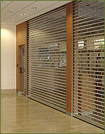 Security shutters for businesses